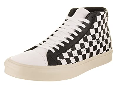 dc60c2b8ba1 Vans Unisex Court Mid (Checkerboard) Skate Shoe  Amazon.co.uk  Shoes   Bags