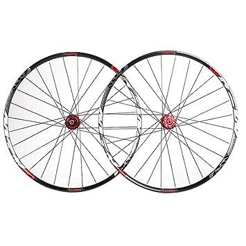 """LIDAUTO Juego de Ruedas de Bicicleta de montaña MTB Velocidad 29""""Pulgadas Aleación de Aluminio"""