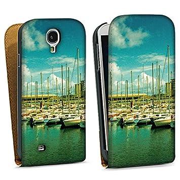 Carcasa Samsung Galaxy S2 Harbour Botas buques, piel ...