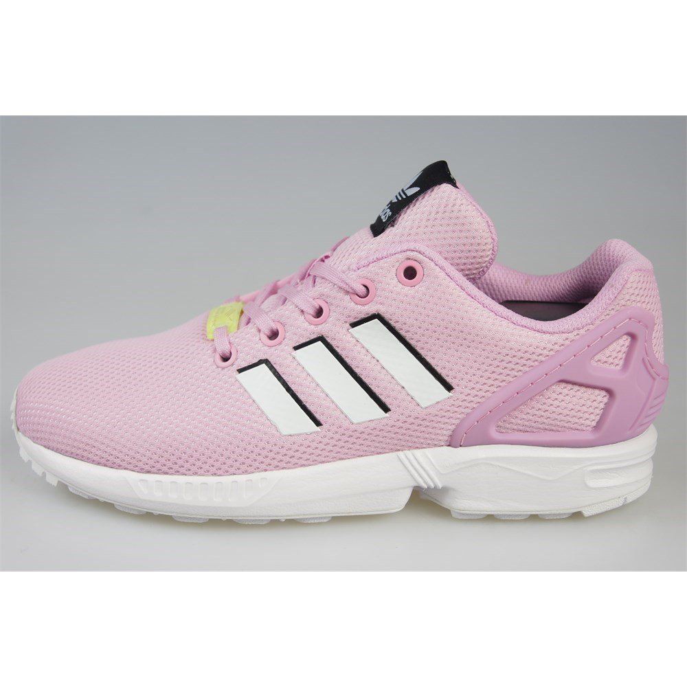 Adidas ZX Flux J - BY9826 - Color Pink-White - Size: 5.0