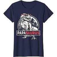 N/A Retro T-Shirt Papasaurus T Rex Papa Saurus