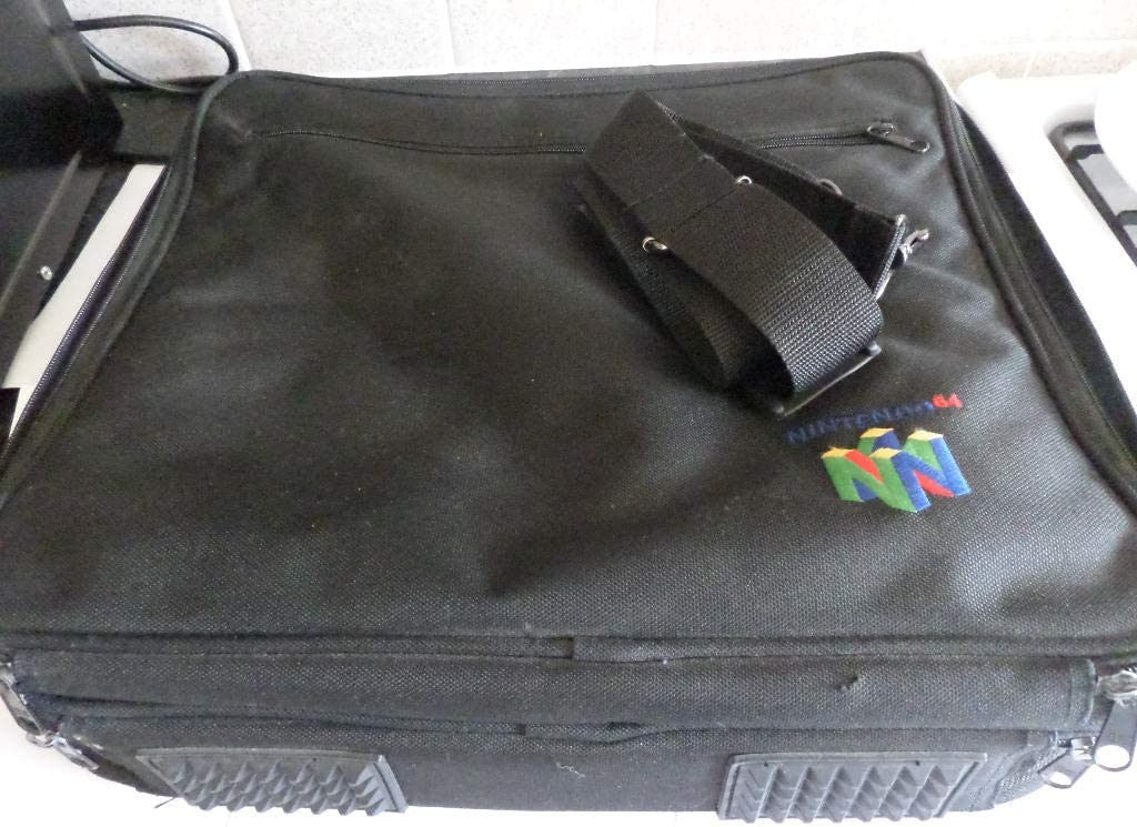 N64 official carry case - best Nintendo 64 accessories