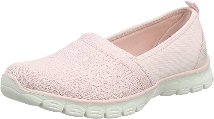 Skechers EZ Flex 3 Quick Escapade Sneakers Slip On Damen Hellrosa