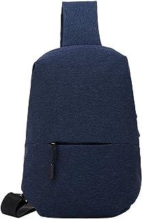 Layxi Bolso del Pecho Casual Bolsa Messenger Hombre Ligero Multiusos Viaje Bolso Cruzado Waterproof Nailon Gran Capacidad Shoulder Bags