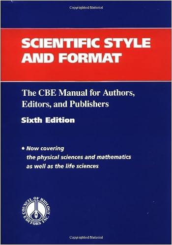 cbe style manual