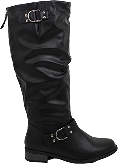 XOXO Womens MINKLER Faux Leather Wide
