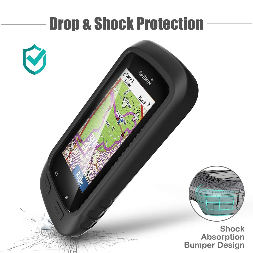 TUSITA Case for Garmin/Edge/Explore 1000 Silicone Protective Cover Approach G8 GPS Bike Computer Accessories