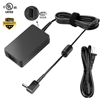 Amazon.com: [UL Listed] tfdirect 19 V adaptador de CA para ...