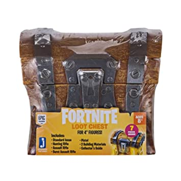 Amazoncom Fortnite Fnt0001 Loot Chest Collectible Toys