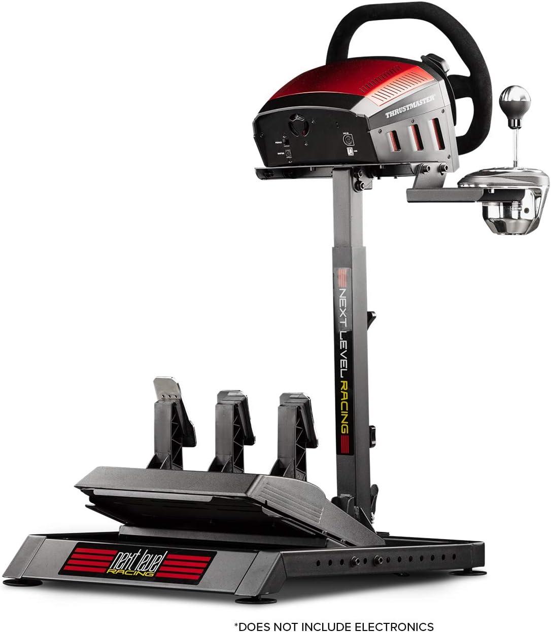 Next Level Racing NLR-S007 Accesorio de Controlador de Juego - Accesorios de Controlador de Juego (Negro, Metal, 480 mm, 600 mm, 750 mm, 120 cm)