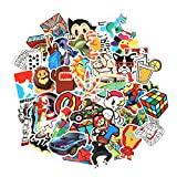 Fngeen Random Sticker 50-500pcspcs Variety Vinyl Car Sticker Motorcycle Bicycle Luggage Decal Graffiti Patches Skateboard Stickers for Laptop Stickers (150pcs)