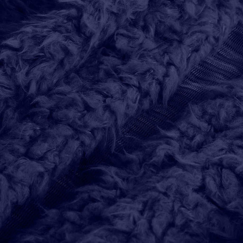 Weant CAPPOTTO Donna Invernale Elegante Tumblr Lungo Donna Cappotti Giacca en Pelliccia Sintetica Addensare Caldo Cappotto Soffice Soprabito Cardigan con Tasche Inverno