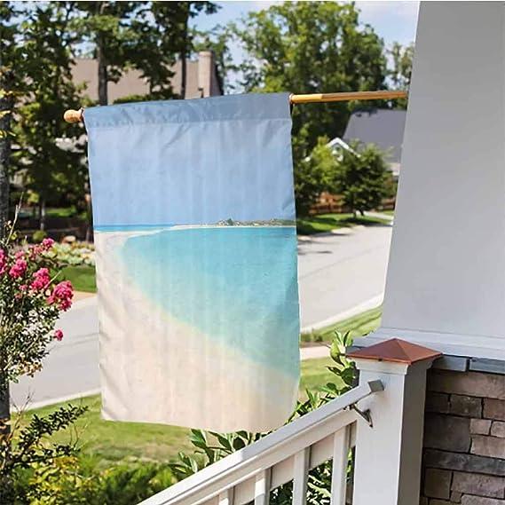 Amazon.com: Bandera de jardín de bienvenida, de doble cara ...