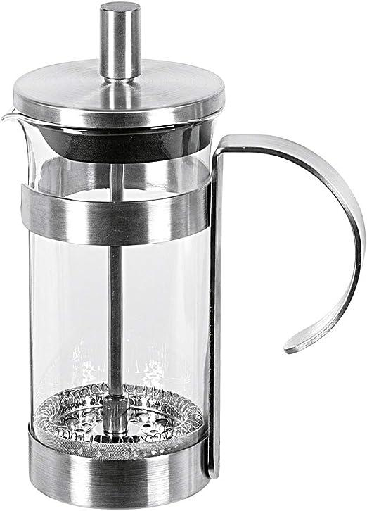 MY - Cafetera de émbolo (acero inoxidable satinado, 350 ml ...