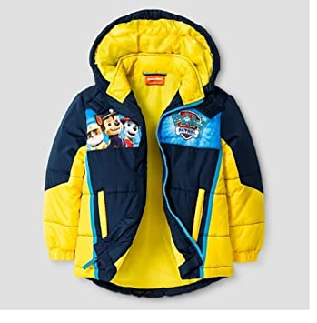 f4f8b32b3266 Amazon.com  Paw Patrol Boy s Puffer Coat (4T)  Baby
