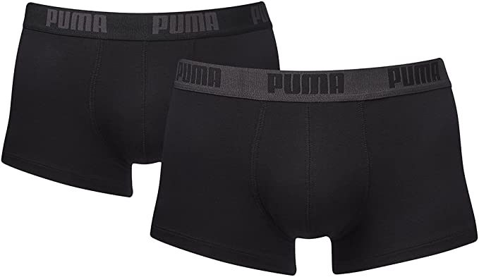 Calzoncillos bóxer Puma Basic Trunk para hombre. Pack de 4 ...