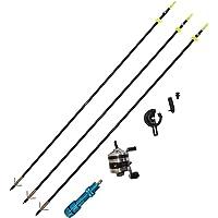 Safari Choice - Juego para Pesca con Arco - Carrete, Flechas, portacarretes,etc
