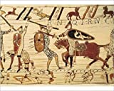 Photographic Print of Bayeux Tapestry. 1066-1077. Battle of Hastings
