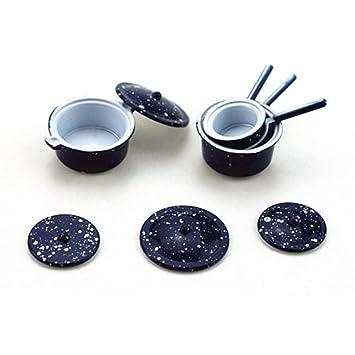 Modell 1:12 Puppenhaus qingsb Miniatur-Tischtennis-Set f/ür Kinder realistisches Holzspielzeug