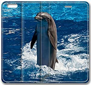 Animal Dolphin Leather Cover for iphone 5c(Compatible with Verizon,AT&T,Sprint,T-mobile,Unlocked,Internatinal)