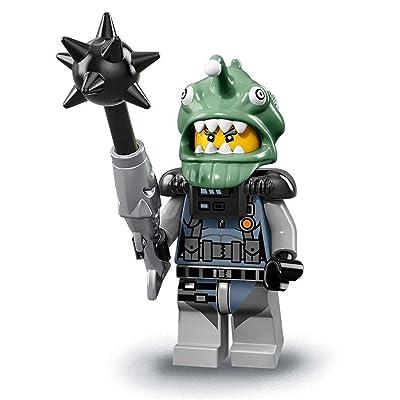 LEGO Ninjago Movie Minifigures Series 71019 - Shark Army Angler: Toys & Games
