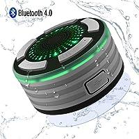 Altavoz Bluetooth Ducha Inalámbrico Impermeable IPX7, Alitoo Altavoz