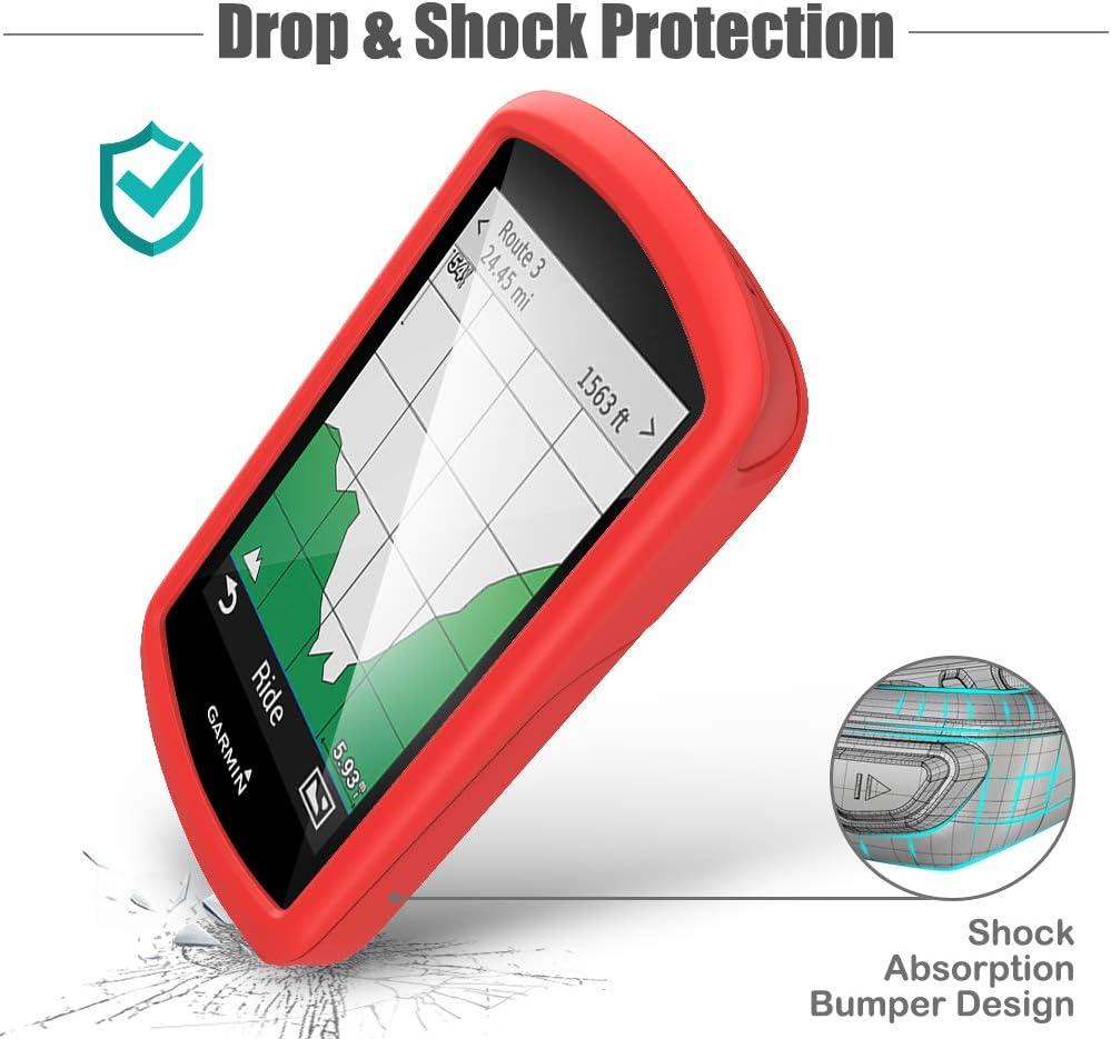 GPS Bike Computer Accessories TUSITA Case for Garmin Edge 1030 Silicone Protective Cover