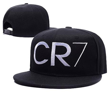 sfumature di risparmia fino al 60% goditi il miglior prezzo CR7 Cristiano Ronaldo JRICK Logo ricamato Cappello Snapback ...