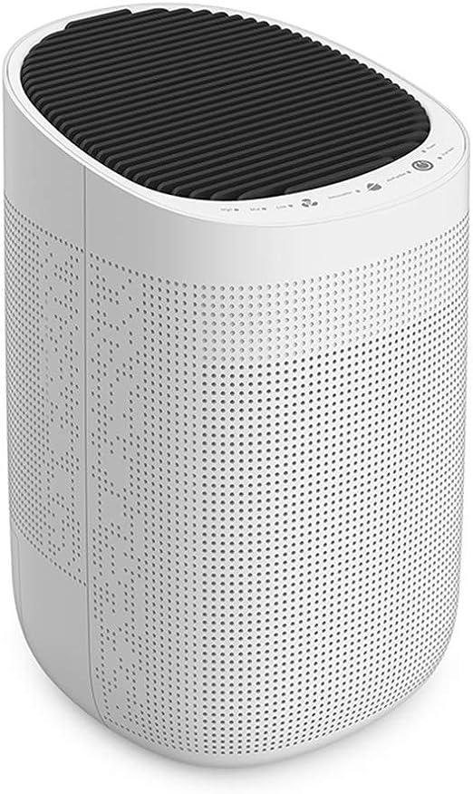 junhuihuwai Deshumidificador Inteligente Absorbente de Humedad Purificador de Aire para el hogar Dormitorio Mudo Mini portátil LED Purificador de Aire Deshumidificación: Amazon.es: Hogar