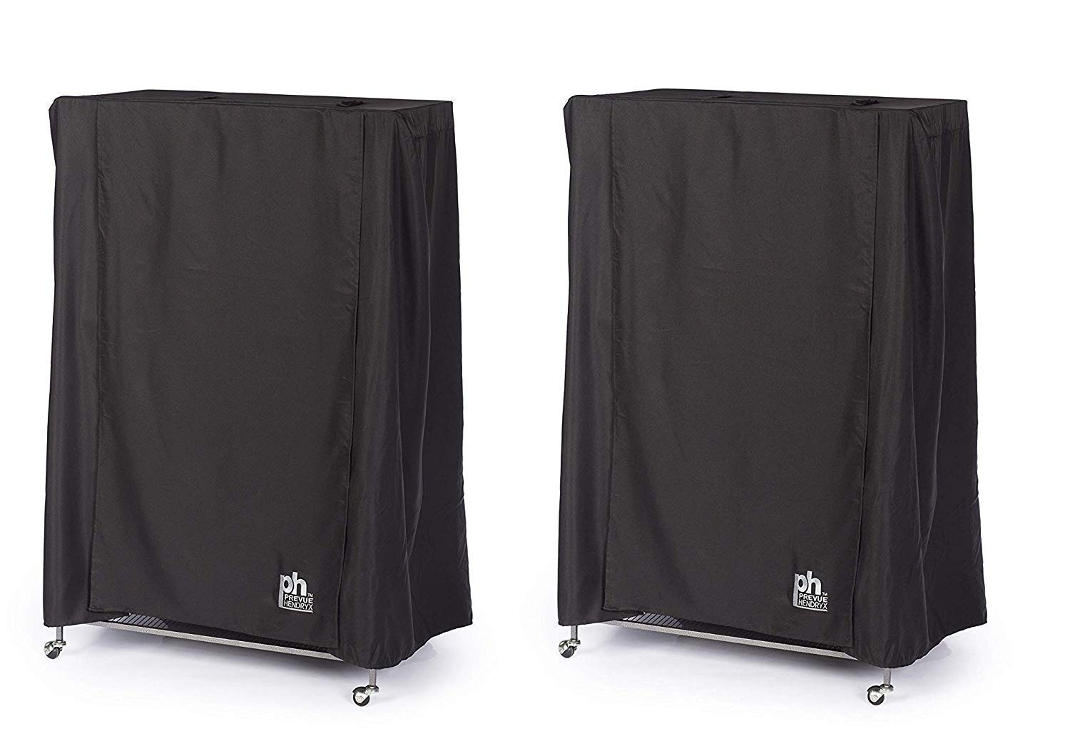 Prevue Hendryx Pet Products Good Night Bird Cage Cover, Large, Black (Pack of 2) by Prevue Hendryx