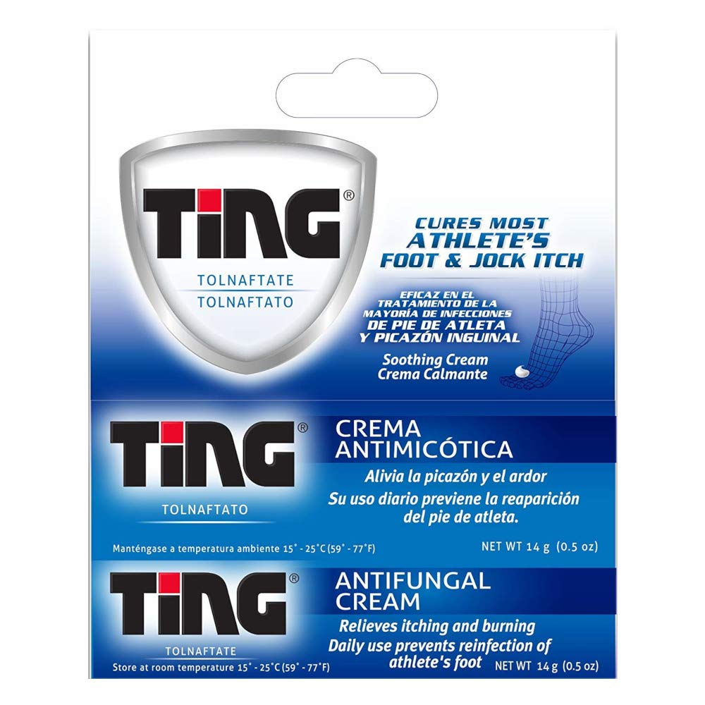 Ting Antifungal Cream 0.50 oz ( Pack of 10) by Ting Ting