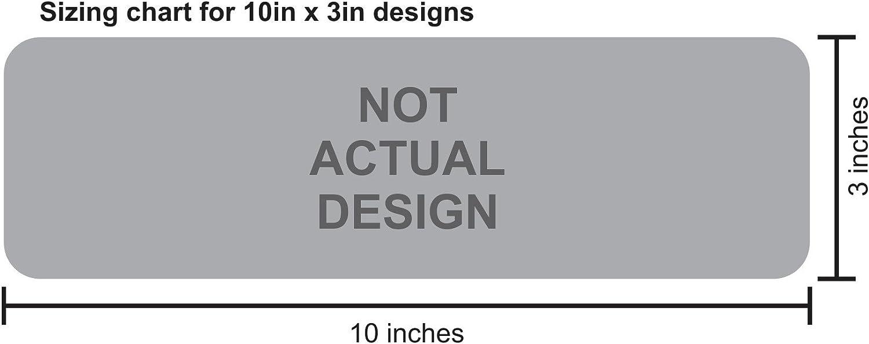 StickerTalk Dynamic Disability Wheelchair Access Vinyl Sticker 10 inches by 3 inches