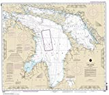 NOAA Chart 14860: Lake Huron 33.6 x 38.8 (TRADITIONAL PAPER)