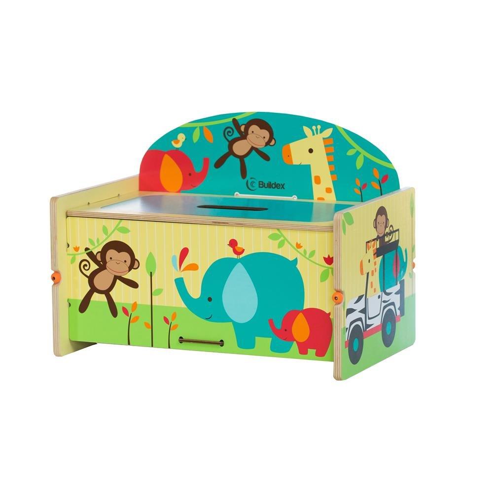 Buildex Bianchi Safari Adventure Storage Box Childrens Outdoor Benches by Buildex