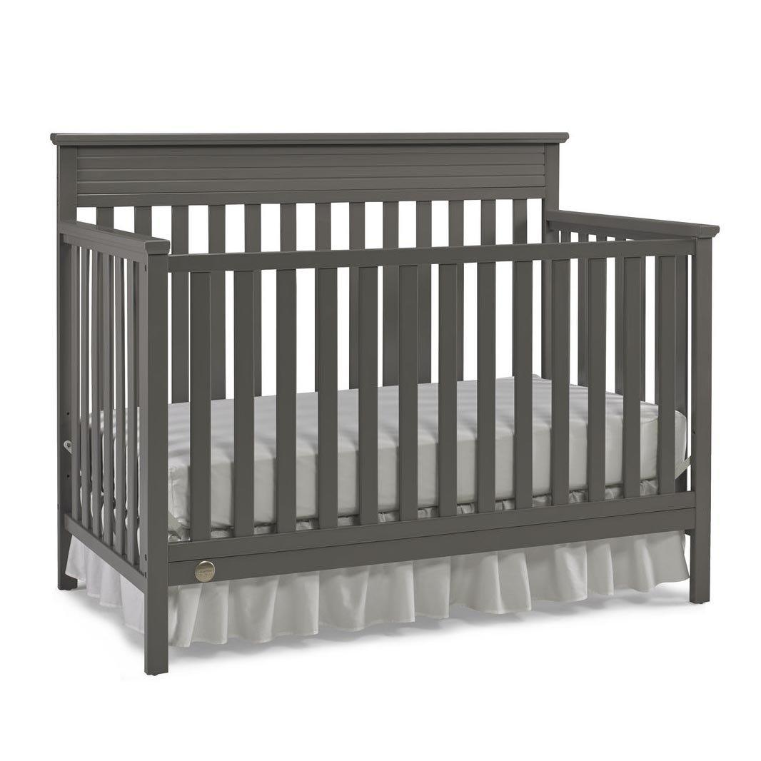 Fisher-Price Newbury 4-in-1 Convertible Crib, Stormy Grey