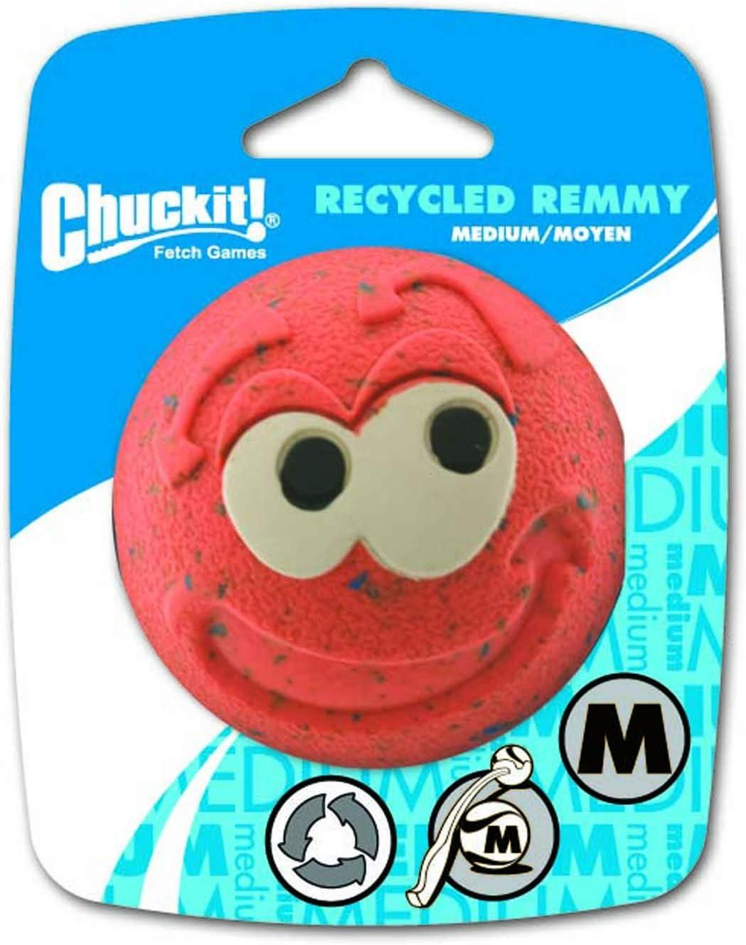 Chuckit! 20420 Recycled Remmy Ball, 1 Pelota para Perros ...