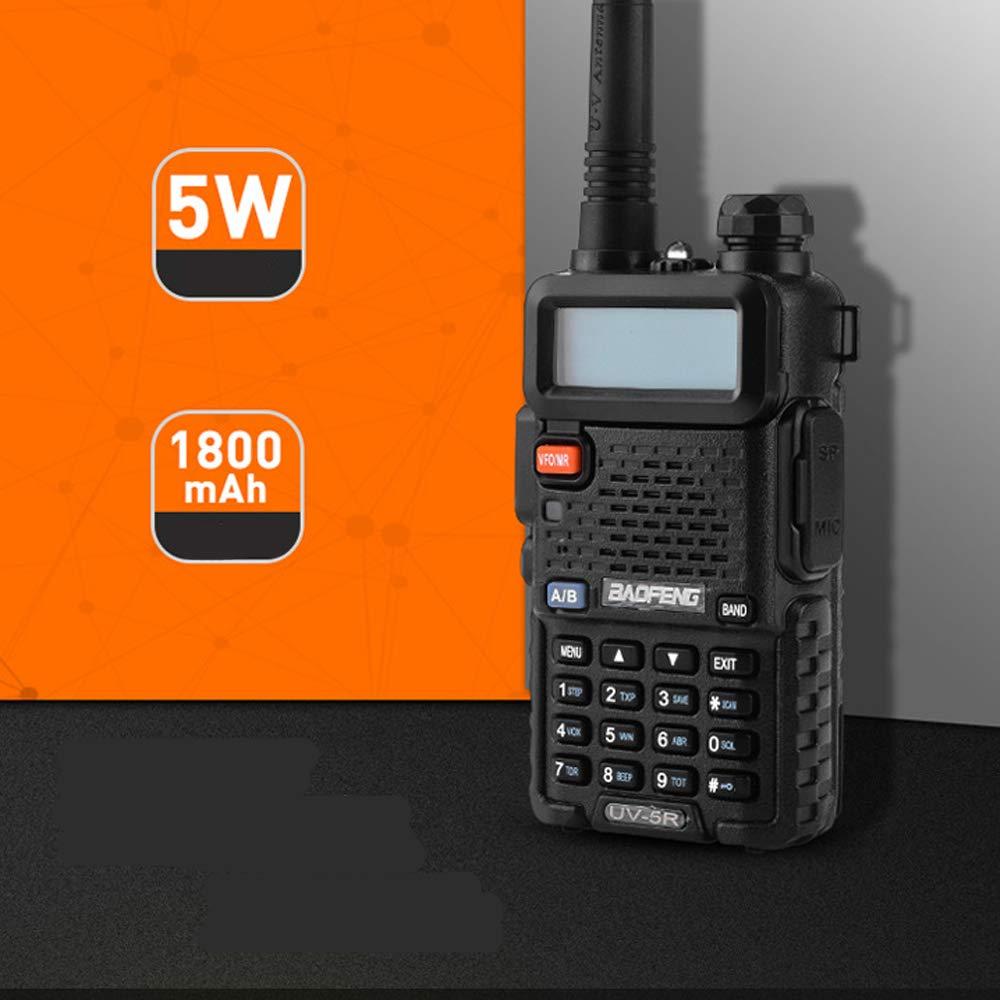 LGFA 5W Power Civil walkie-Talkie 128 Channels interphone Wireless 1-15 km Signal Reception 1800 mAh high Capacity Lithium Battery by LGFA (Image #2)