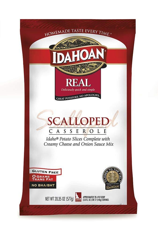 Idahoan Real Scalloped Potato Casserole, 20.35 Ounce - 12 per case.