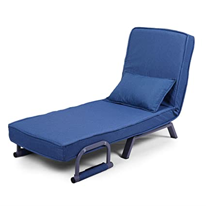 Amazon.com : LAZYMOON Folding Chaise Lounge Sofa Chair 5 ...