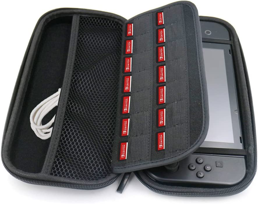 Nintendo Switch Case, Sounor Game Traveler Deluxe Travel Case Funda Rígida Protectora Carrying Case, Color Negro (Nintendo Switch): Amazon.es: Videojuegos