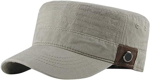 NEW *PINK* ARMY CADET CAP ADJUSTABLE MENS WOMENS RETRO MILITARY PEAK HAT