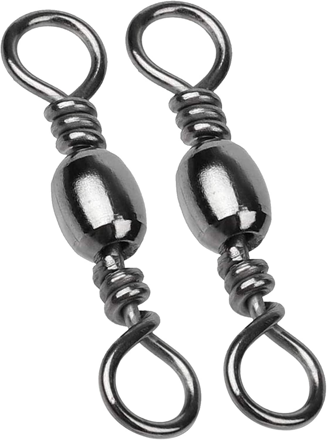 Fishing  Ball Bearing Rolling Swivel Solid Rings Line Hook Lures Connector