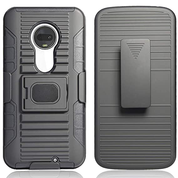 Amazon com: Moto G7 Case, Moto G7 Plus Case with Tempered