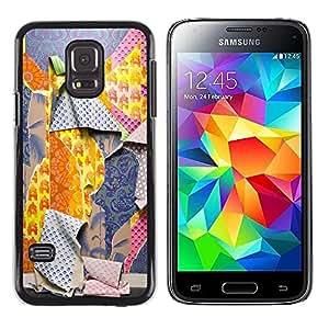 "Pulsar Snap-on Series Teléfono Carcasa Funda Case Caso para Samsung Galaxy S5 Mini ( NOT for regular S5 ) , Patrones Ripped Moda Profunda"""
