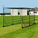 FORTRESS Mobile Baseball Batting Cage - Become A Pro Hitter With This Portable Baseball Batting Cage [Net World Sports]