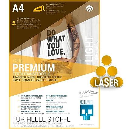 SKULLPAPER Premium película de transferencia textil / A4 ...