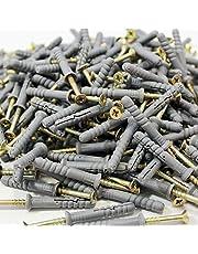 Slagpluggen, 8 x 100 - 100 stuks nagelpluggen, kruiskop