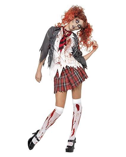 Zombie Colegiala Disfraz S 36-38: Amazon.es: Juguetes y juegos