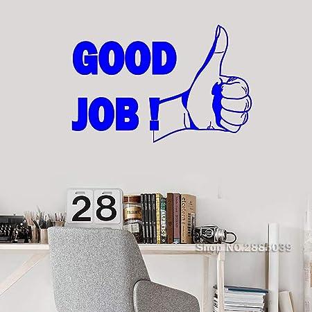 Thumb Up Good Job Vinilo Tatuajes de Pared Motivación de la ...