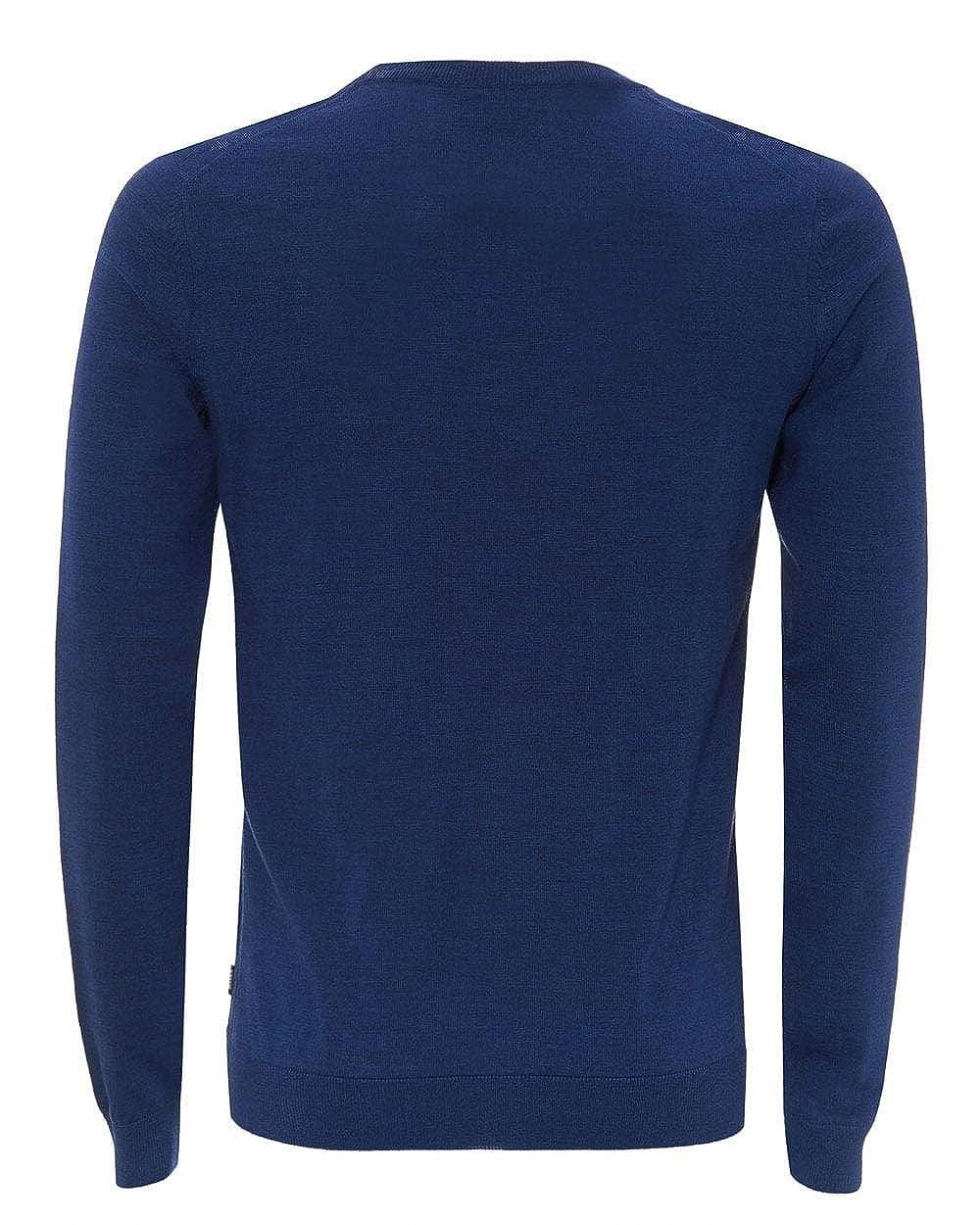BOSS Langarm Pullover Melba-P V-Ausschnitt Slim Slim Slim Fit Rauchblau B07N3T8V4B Pullover Neueste Technologie d44c85